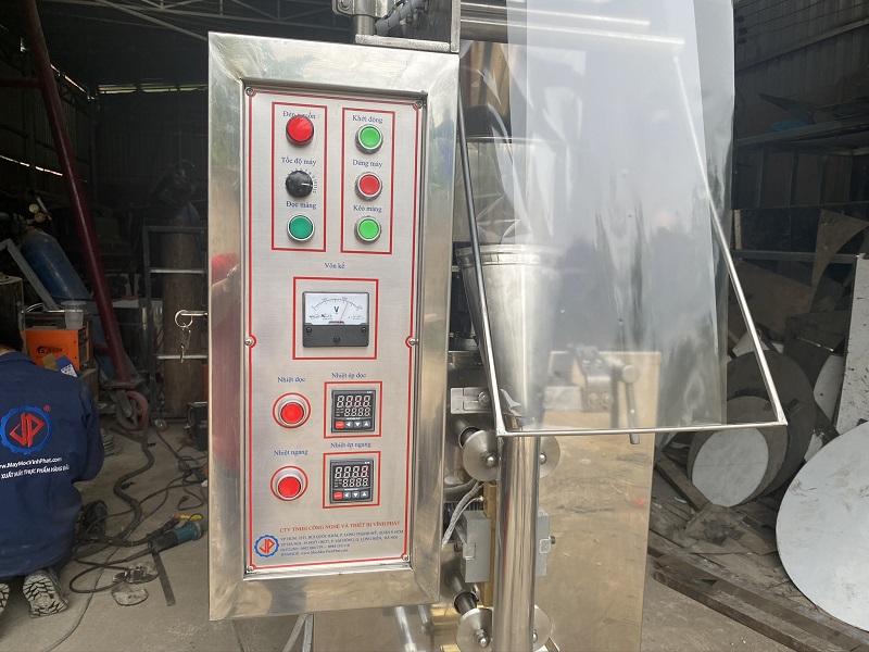 Tủ điện máy đóng gói cà phê hòa tan, máy đóng gói đường que trực quan, rõ ràng