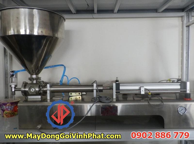 Máy chiết rót 1 vòi định lượng bằng khí nén do Cty Vĩnh Phát cung cấp