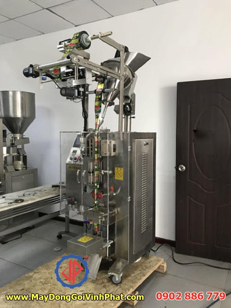 Mẫu máy đóng gói stick cho bao bì gói dài như: cà phê, bột ngũ cốc, trà gừng